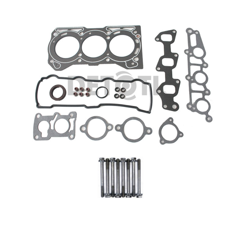 fits 89 97 geo metro xfi lsi base 1 0l i3 g10 graphite head gasket set bolts. Black Bedroom Furniture Sets. Home Design Ideas