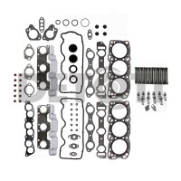1988-2000 Mitsubishi, Chysler, Dodge, Plymouth 3.0L V6 Graphite Head Gasket Set, Head Bolts, Lifters (12)